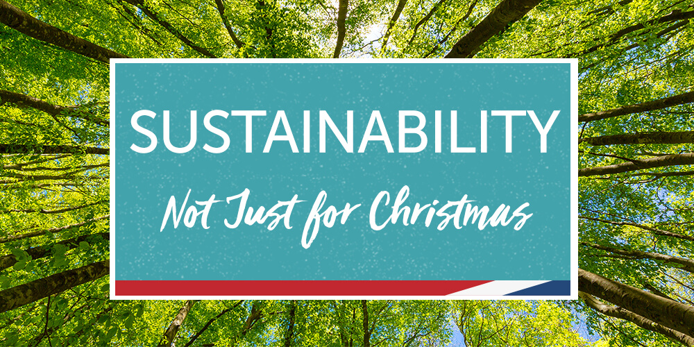 Sustainability Not Just for Christmas